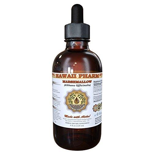 Marshmallow Liquid Extract, Organic Marshmallow Althaea officinalis Tincture 4 oz