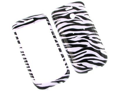 (Durable Plastic Phone Design Case Cover Zebra for T-Mobile myTouch 3G)