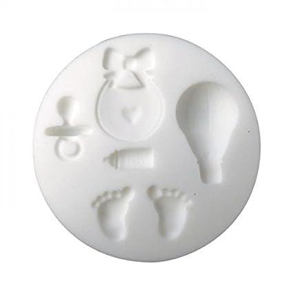 Mini molde de silicona para masa FIMO - Nacimiento