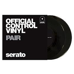 "Serato Official Control Vinyl 7"" 'Black' (Pair) by Serato"
