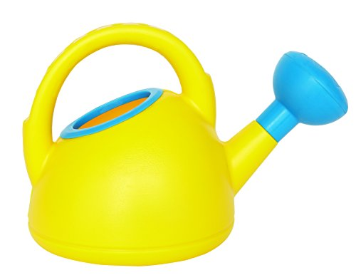 41q9w1%2BkVAL - Hape Sand & Sun Beach Toys Watering Can in Yellow