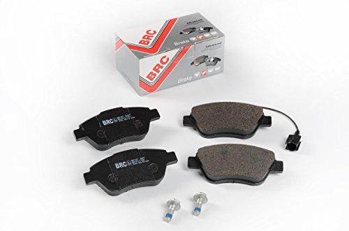 BRC Car Service BRK1327 Front Disc Brake Pads Kit: