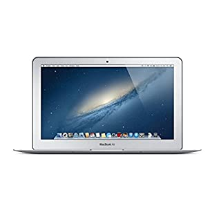 Apple MacBook Air 11.6-Inch Laptop Core i5 1.7GHz (MD224LL/A), 4GB Memory, 128GB Solid State Drive, MacOS 10.12 Sierra (Renewed)