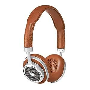 Master & Dynamic Wireless On Ear Headphones, Brown/Silver - MW50S2
