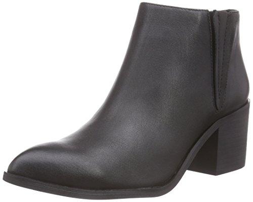 Sofie Schnoor Pointy toe leather boot - Botas de piel para mujer negro - negro