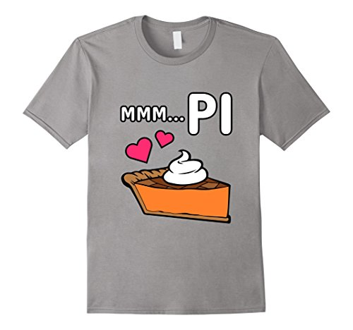 Mens Funny Pi Pie T Shirt National Pi Day Gift 2Xl Slate