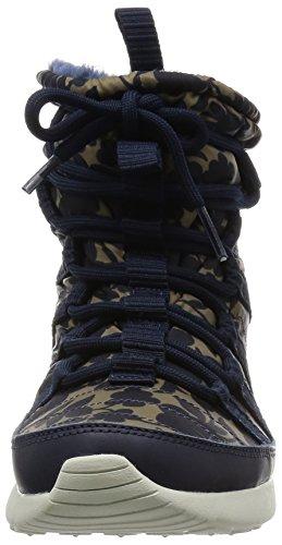 Nike Womens Wmns Roshe One Hi Lib Qs, Libertà-ossidiana / Carico Khaki-grn Glow-lt Bg Ch, 7,5 Us