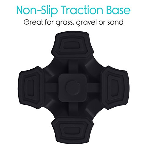 Tripod Rubber Pad Stick Anti-slip For Foot Cane Replacement Stand Walking Tip