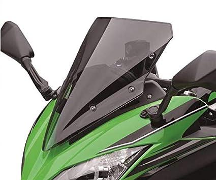 Kawasaki Ninja 650 - Parabrisas Tintado, Color Negro: Amazon ...