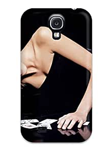 Anti-scratch And Shatterproof Poker Phone Case For Galaxy S4/ High Quality Tpu Case