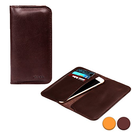 d-park-5-57-universal-leather-smartphone-wallet-case-in-brown-card-slots-dual-slip-style-pockets-ult