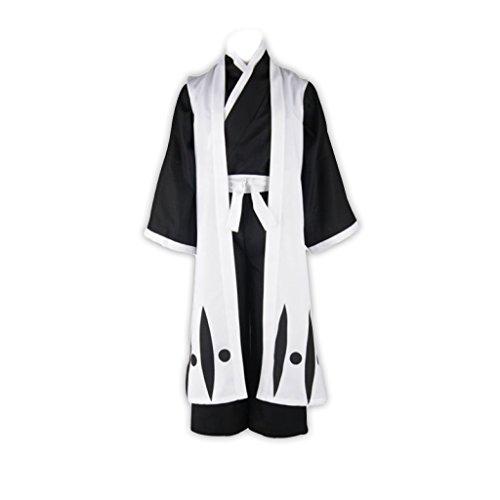 [Bleach Cosplay Costume-Hitsugaya Toushirou 10th Division Captain Outfit XX-Large] (Hitsugaya Cosplay Costume)