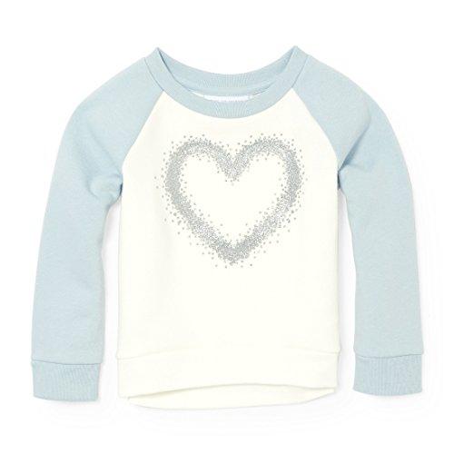 The Children's Place Baby Girls' Long Sleeve T-Shirt, Cosmic Light 91328, (Girl Places Kids Sweatshirt)