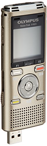 OLYMPUS IC recorder VoiceTrek 8GB blue MicroSD support MP3/WMA V-823 gold JPN model