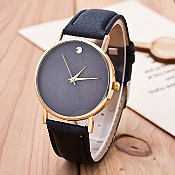 Estilo europeo de la moda relojes mujer Fashion Simple Chic sin ...