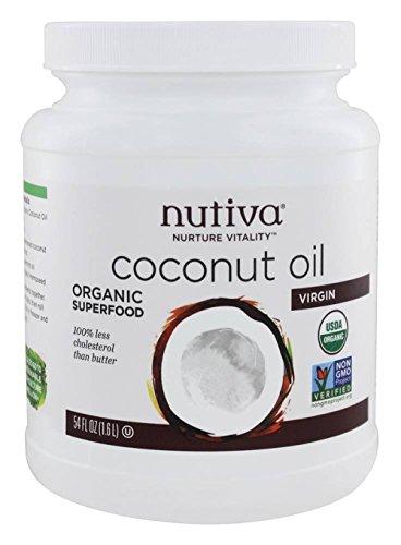 Nutiva Organic Coconut Oil, Virgin, 54 Ounce