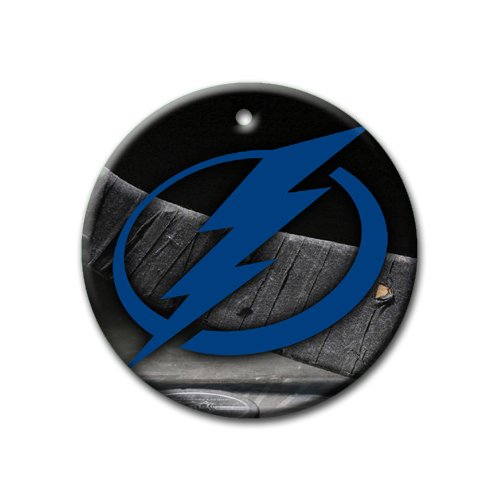 - Lightning Hockey Ornament round porcelain Christmas Great Gift Idea Tampa Bay