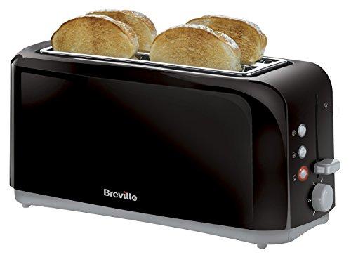 -[ Breville VTT233 Black 4 Slice Toaster  ]-