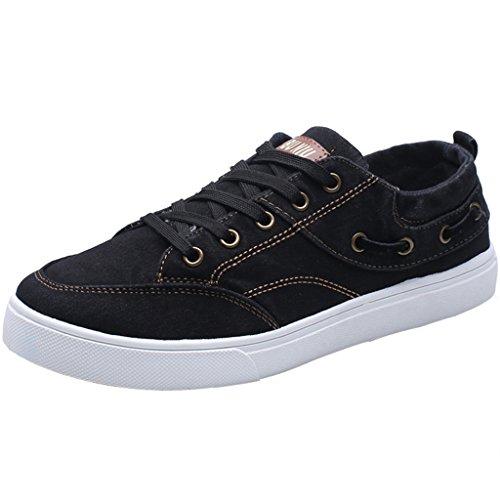 scarpe di Nuove YaNanHome traspiranti casual di Color coreano stoffa Gray scarpe stile stile Size 37 tela di Black primavera scarpe scarpe panno qXPrdwP