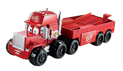 Disney Cars Splash Racers Mack Transporter Mack Truck Transporter
