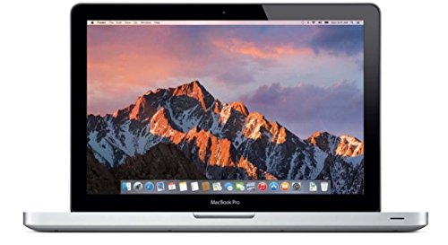 Apple MacBook Pro 13.3-Inch Laptop 2.5GHz i5 (MD101LL/A), 16GB Memory, 500GB Solid State Drive, DVD Burner (Renewed) ()