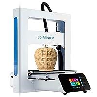 JGAURORA A3S Imprimante 3D Mise à jour 3d Prusa avec 2,8 HD Touch écran LCD beheizt chaude Lit (Blanc)