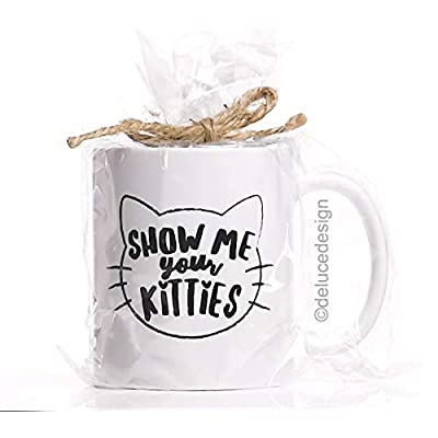 Cat Fan related Products Show Me Your Kitties Coffee Mug – Funny Cat Mug – Novelty Mug, Gift idea for Cat Lover & [tag]
