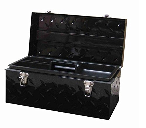 Tread Plate Tool Chest (Husky 20 in. Tool Box Tread Plate Steel Portable Tray Storage Hand Toolbox New .#GH45843 3468-T34562FD654095)