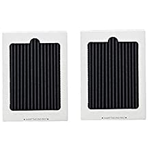 2 Replacement Frigidaire Pure Air Ultra Refrigerator Air Filters, Also Fits Electrolux, Compare to Part # EAFCBF PAULTRA 242061001 241754001,