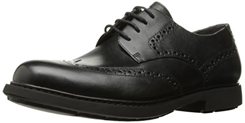 (Camper Men's Neuman K100156 Tuxedo Oxford, Black, 44 EU/11 M US)