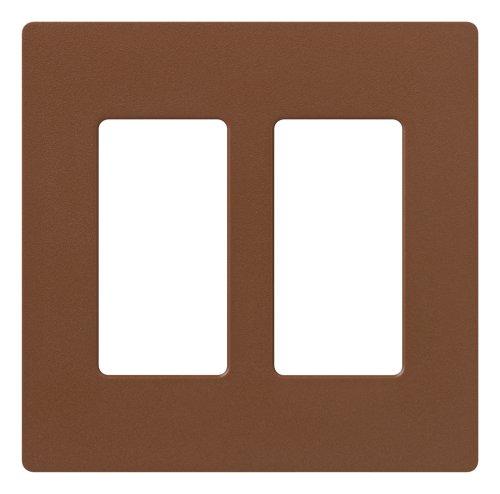 Lutron SC-2-SI ClaroTwo-gang Wallplate Sienna - Switch Plates - Amazon.com
