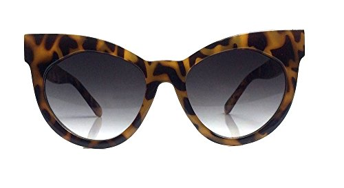 Starburst Cat Eye Large Oversized Womens Star Sunglasses (Shade Starburst)