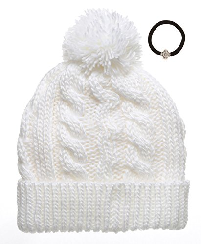 Womens Oversized Knitted Fleece Beanie product image