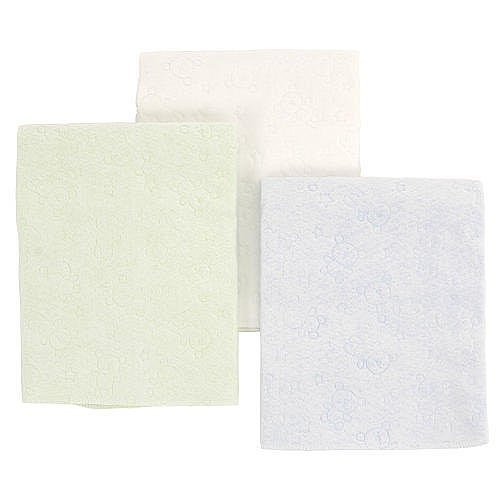 Babies R Us Multi-Use Lap/Burp Pads 3 Pack- Multi Color (Waterproof Use Multi Pad)