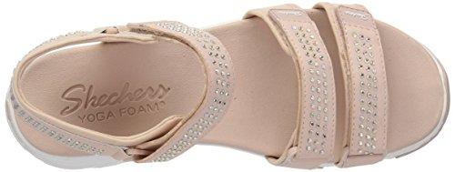 Light Rhinestone D'Lites Skechers Style River Sport Sporty Women's Sandal Comfort Glam Pink Retro nIqSrxPw5q