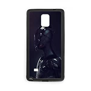 Samsung Galaxy Note 4 Cell Phone Case Black Body Armor Illust LSO7939557