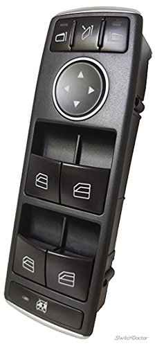 Mercedes Benz ML350 Master Power Window Switch 2012-2015 (Auto Dim Mirrors)