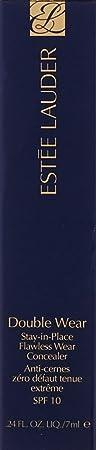 Estee Lauder Double Wear Stay-In-Place Flawless Wear Concealer, Warm Light, 0.24 Ounce