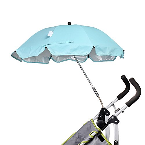 iRibbons Baby Stroller Umbrella Trolley Umbrella Baby Trolley Walker Baby Carts Cover Stroller Accessories (Light green) by iRibbons