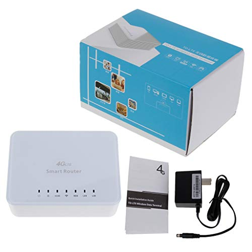 Tebatu 4G LTE CPE Mobile WiFi Wireless Router 2.4GHz WFi Hotspot for SIM Card Slot with LAN Port SIM Card Slot A9SM