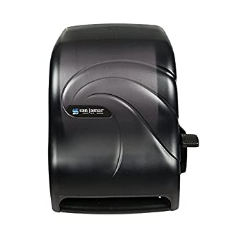 San Jamar T1190TBK Oceans Paper Towel Dispenser, Roll, Black Pearl