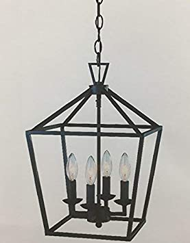Trans Globe Lighting 10264 ROB Indoor Lacey 12 Pendant, Rubbed Oil Bronze