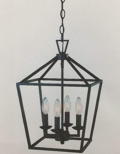 Trans Globe Lighting 10264 ROB Indoor Lacey 12'' Pendant, Rubbed Oil Bronze by Trans Globe Lighting (Image #1)