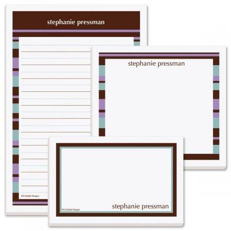 Emily Memo Pad Trio- 50 Sheet Custom Memo Pad, Set of 3