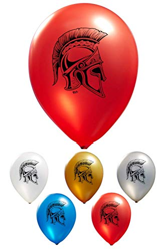 - Spartan Helmet Balloons - 2 Sided Print | 12