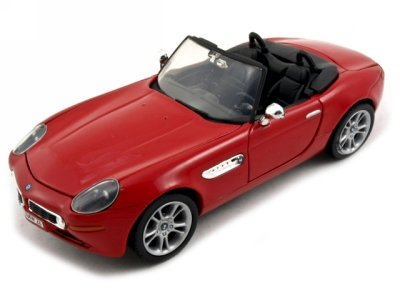 BMW Z8 Red 1:24 Diecast Model Car