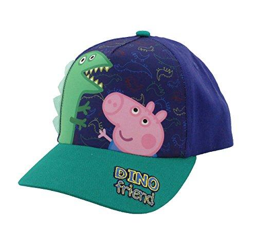 Peppa Pig Boys Girls Baseball Cap Hat (One Size, Blue/Green)