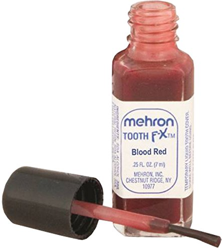Mehron Blood Red FX Tooth Paint (.25 oz)