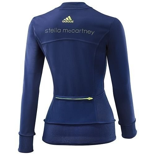 Adidas pantalon femme stella mc cartney intermédiaire performance run veste de course climaproof veste de sport bleu
