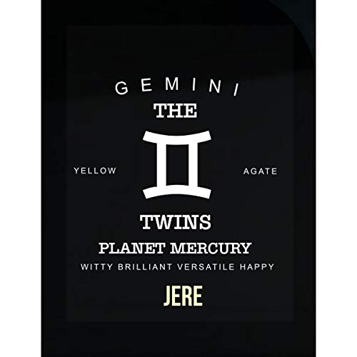 Namska Jere I Am Gemini The Twins - Man - Sticker